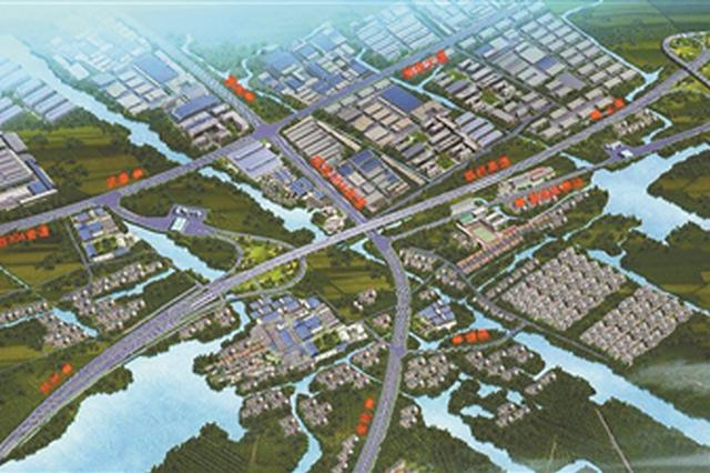 练杭高速雷甸互通将改扩建 预计将新建桥梁5座