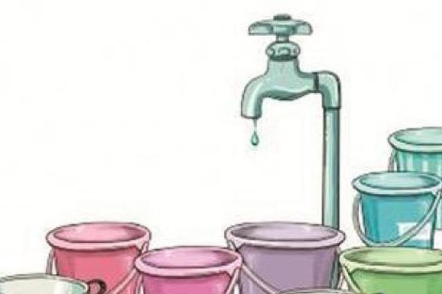因地铁站施工需要 杭州部分地区将停水10小时