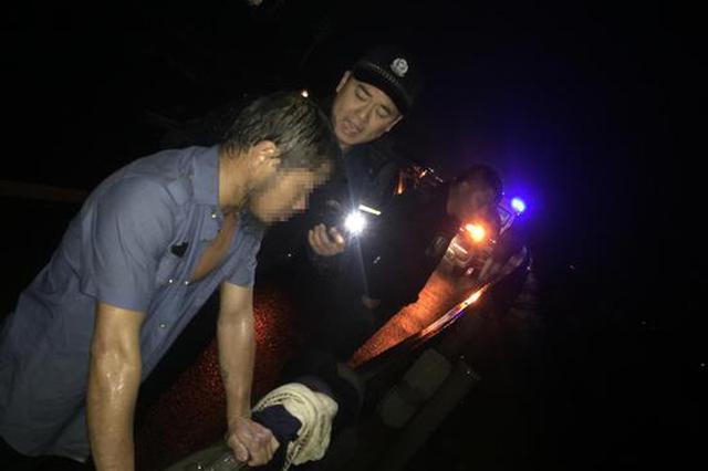浙江松阳一醉汉要跳水救人 警方多部门联动终化险