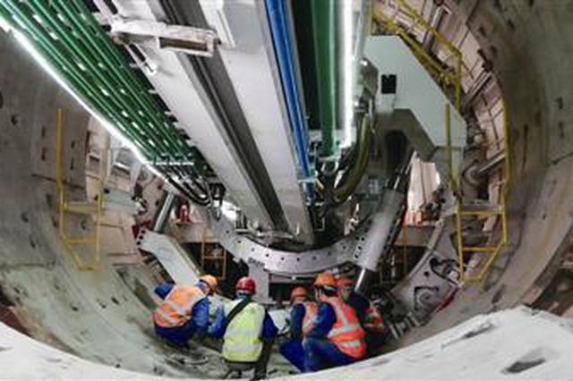 杭富地铁隧道暗挖施工 预计到2020年6月完成主体施工