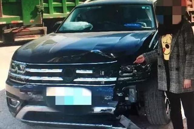 湖州20岁女司机无证醉驾撞上出租车 短暂逗留后逃逸