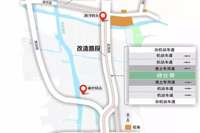 开车好像在开船 杭州城北最坑的路四月份要开始整修
