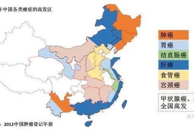 杭州公布最新癌谱 每230个杭州人中就有1人患癌