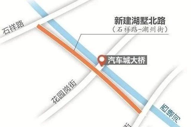 杭州湖墅北路改造 未来城北新增南北向通道直达西湖