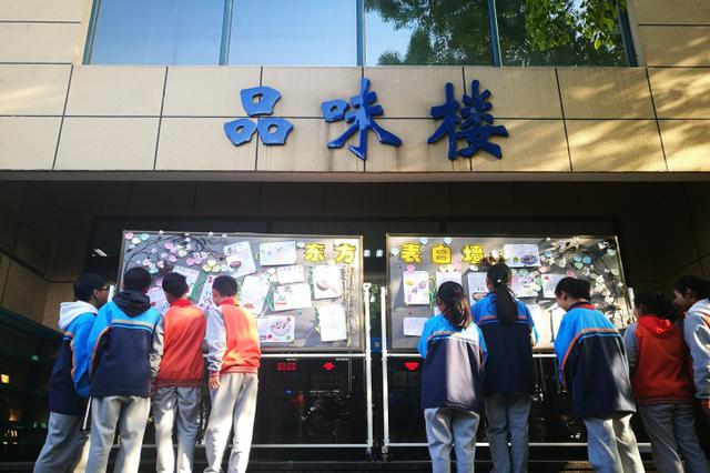 队伍排到时东坡肉没了 杭州初二男生一个人在食堂哭