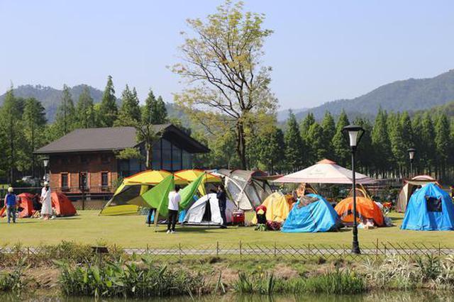五一期间41万人次游客涌入宁波东钱湖 同比增长78.3%