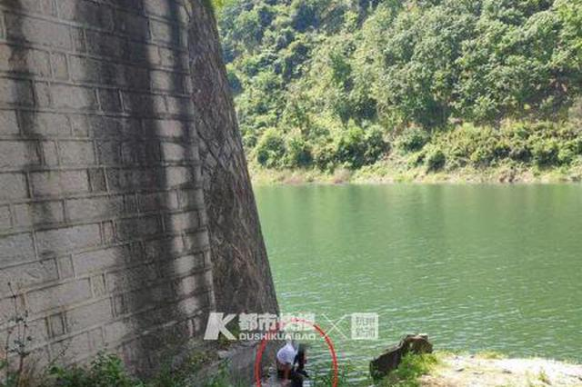 杭州男子第三次无证驾驶被查后 用跳水库威胁交警