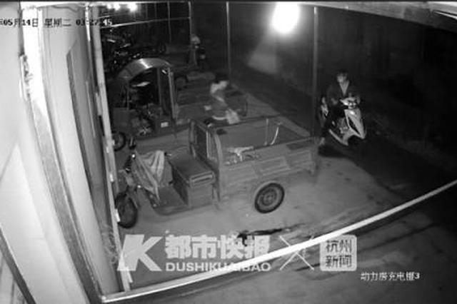 一早接30起电瓶被偷报警 杭警方顺藤摸瓜找到3吨电瓶