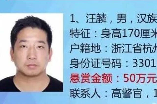 浙江24名网贷红通嫌疑人之首被缉捕 曾悬赏50万通缉