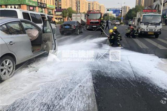 杭州发生三车相撞事故 4人受伤其中一名是孕妇