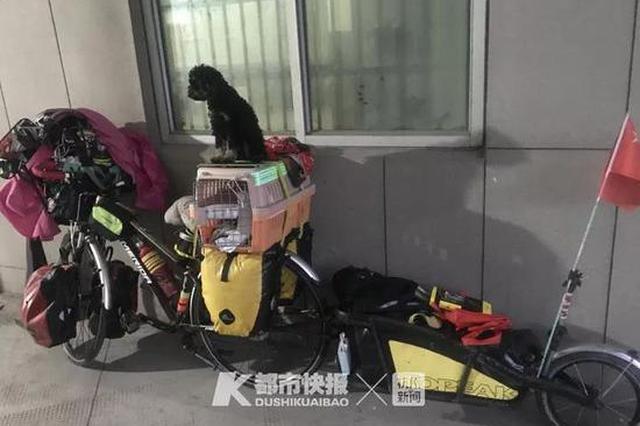 61岁大叔23天骑车2000公里 从吉林来杭州打球(组图)