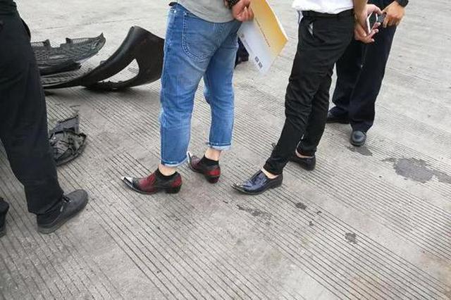 浙江一男司机高速上被罚50元 理由:穿高跟皮鞋