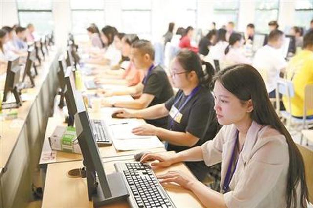 浙江高考阅卷进行中 91万答卷2000多名老师参与阅卷