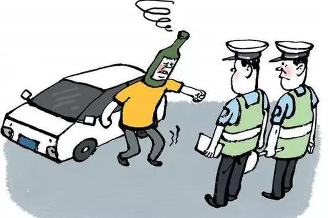 醉酒后点着警车后座还打警察 杭州一名男子被判刑