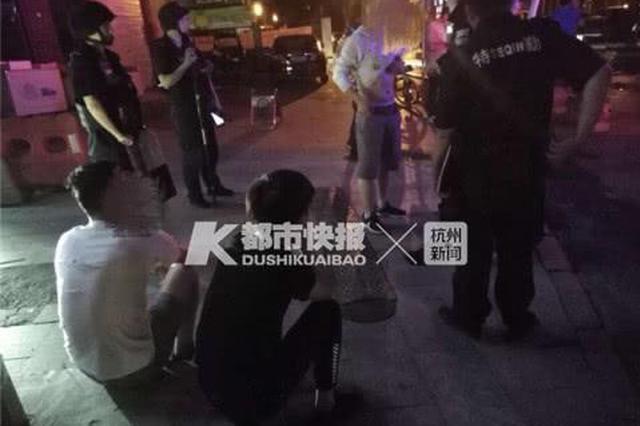 杭州1小伙酒后随地小便 惹怒烧烤摊老板被打成猪头