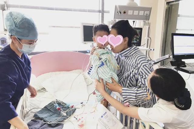 出生确诊患胆道闭锁 浙江一妈妈毫不犹豫割肝救子
