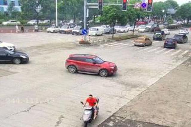 台州一男子向老婆示爱当场偷车 两人双双被拘