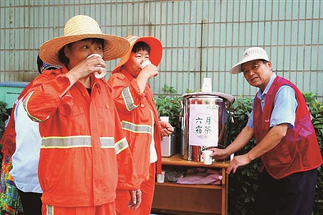 杭州有個涼茶鋪燒了8年免費茶 除了大暴雨外從未歇業