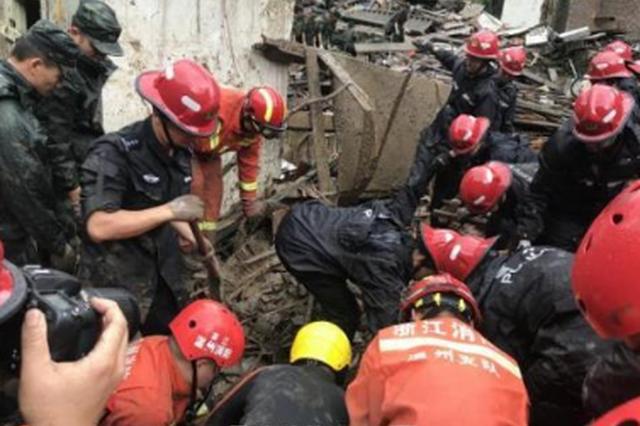 温州基层干部山洪中救出6人 80多岁母亲却不幸离世