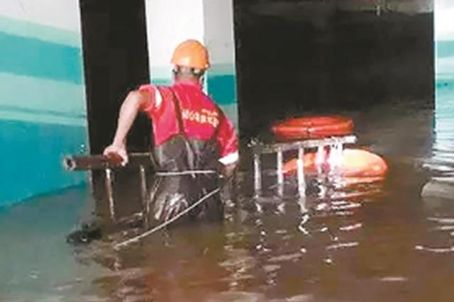 杭城管应急抢险队奋战三天三夜 顺利完成任务归来