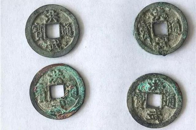 嘉兴一工地发现300斤古铜钱 涉及唐宋元明4个朝代