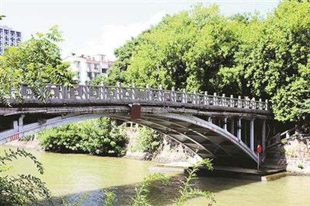 杭州老德胜桥桥面修缮 9月25日前机动车都不能开