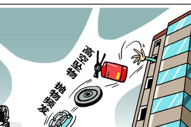 杭州1小区高空掉下花盆砸坏车顶 去年发生过同样的事
