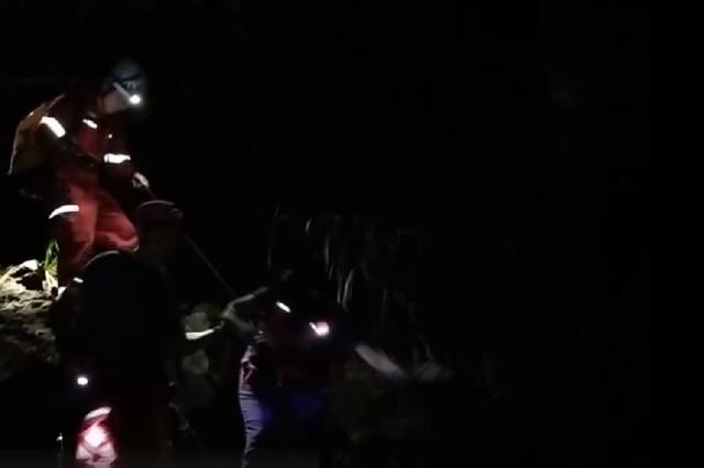 21名驴友被困深山 浙江衢州当地连夜救援