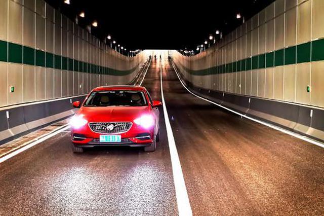 杭州南下高速可直通城西 之浦路三期隧道临时开放通行
