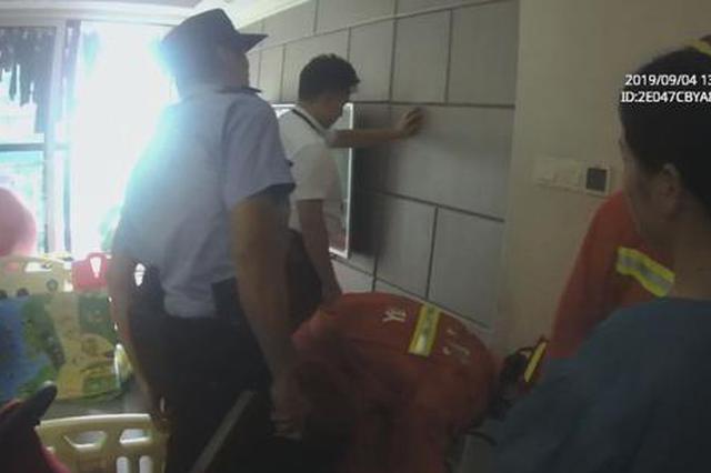 杭州萧山一3岁女童被反锁房内 暗门加隐形锁几乎无解