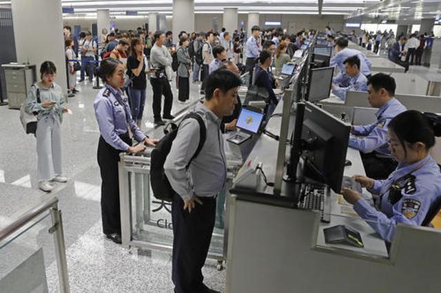 中秋小长假杭州出入境旅客预计日超17500人次