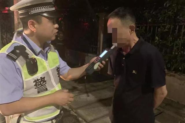 被判过刑刚重考驾照 杭州一老总第三次醉驾又被抓
