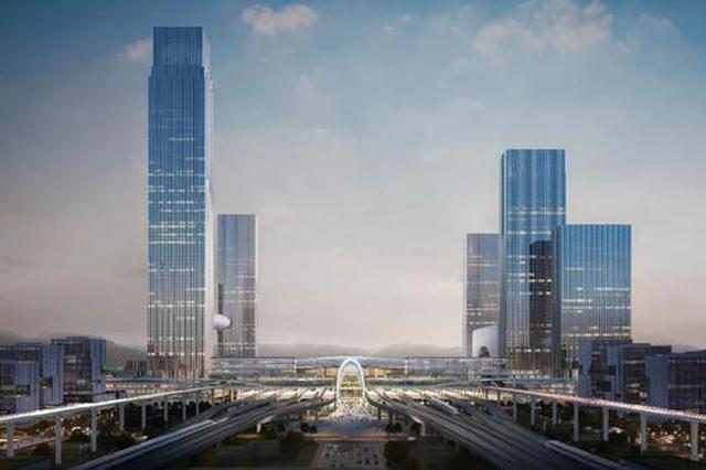 杭西站枢纽开工 力争亚运会前建成杭州第二大高铁枢纽