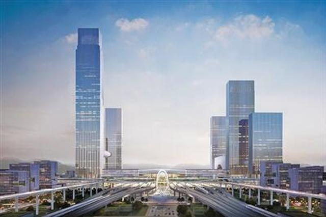 杭州西站枢纽暨湖杭铁路工程今日开工