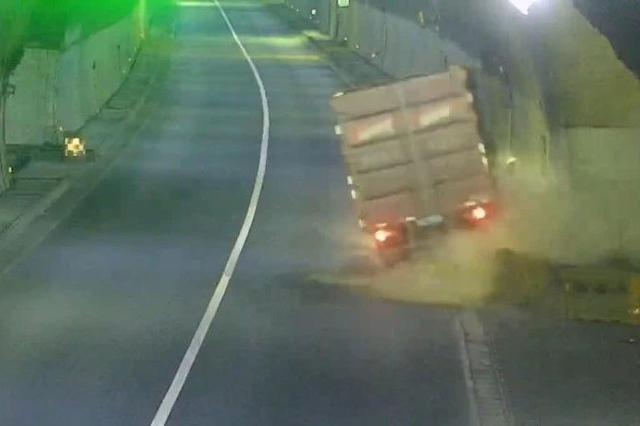 温州一男子疲劳驾驶 头部受到冲击不知自己身在何处