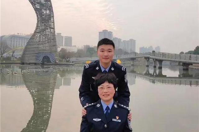 浙民警牺牲妻子继承其职业成警察 21年后儿子也成警察