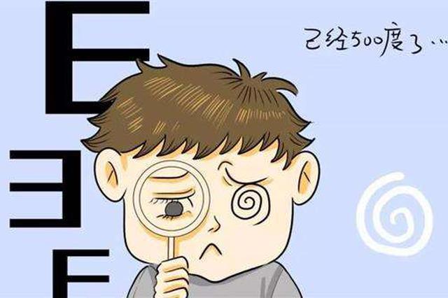杭州一位20岁女孩从未戴过眼镜 一查近视1000度