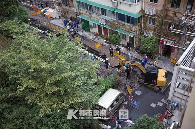 挖破燃气管道拿棍子堵上 杭州市区野蛮施工事故频发