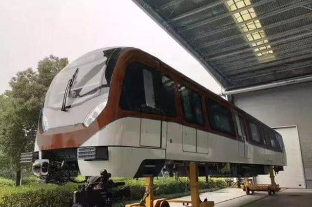 杭州地铁9号线列车谍照出现 使用B型鼓形车(图)