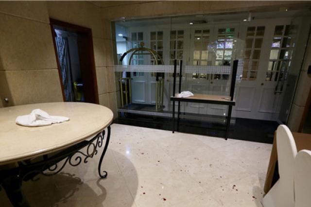 杭州上城区某酒店发生伤人事件 受伤男子已送至医院