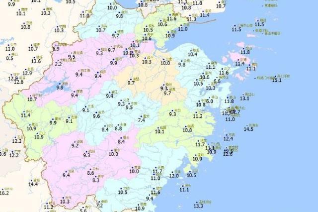 杭州今天天气放晴 周日起开始回暖