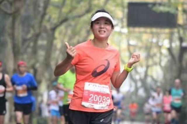 杭州跑圈有一名狠角色 一个月要跑300多公里