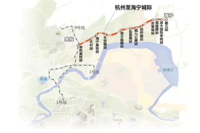 杭海城际铁路实现洞通 许多跨城上班族决心买房