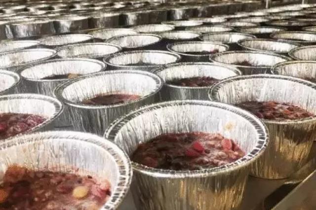 杭州灵隐寺的腊八粥来了 今起征集爱心协作发放单位