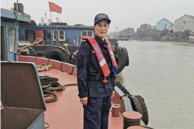 浙内河海事一班长52岁生日当天 在风中站了17个小时