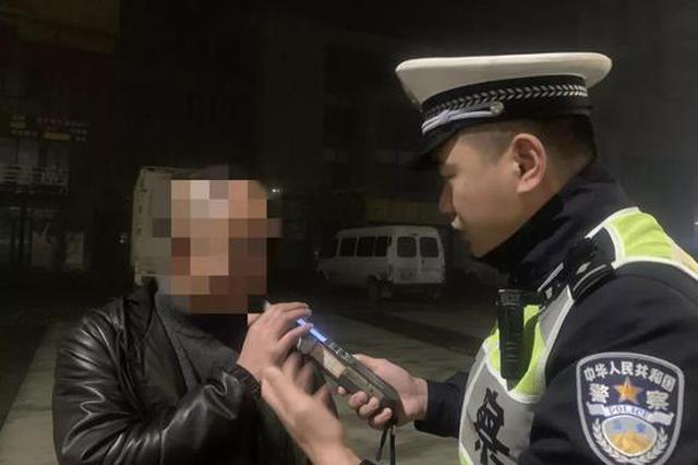 杭交警查获一起酒驾 驾驶员是驾校教练有20余年的驾龄