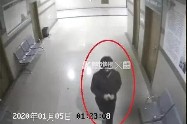 杭州萧山一男子偷完钱 给姑娘留下纸条和微信号