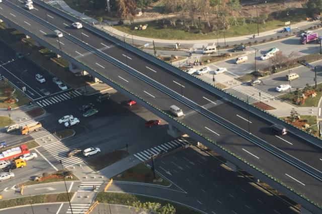 杭州康桥路至上塘路节点提升工程通车 又多条快速路