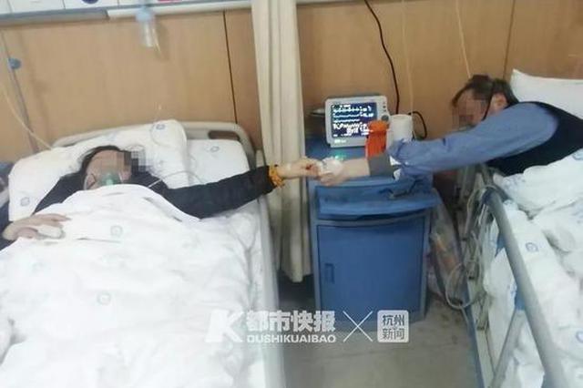 最难过的是看到他连哭的力气都没 杭医生在武汉现场