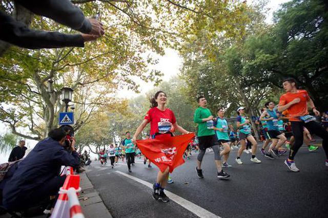 一年365场天天都有比赛 浙江人爱跑也太能跑了